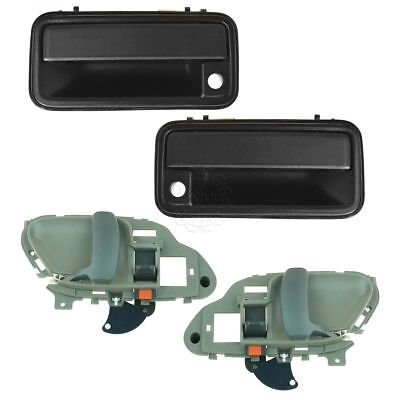 - Door Handle Inside & Outside Kit Set of 4 for Chevy GMC Pickup Truck SUV NEW