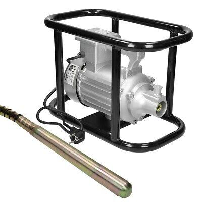 Compactador eléctrico de hormigón 1500W botella vibradora asa de transporte 45mm
