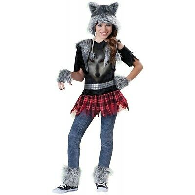 Werewolf Costume Girls Teen Tween Female Wear Wolf - Small -