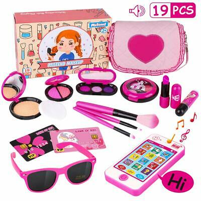 Kids Makeup Kit - Girl Pretend Play Makeup & My First Purse Toy for Toddler Gift (Girl For Kids)