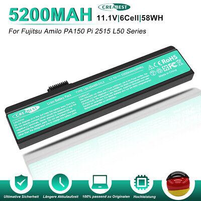 L50-3S4000-C1S3 L50-3S4000-S1P3 Akku Für Fujitsu-Siemens Amilo Li1818 Li1820