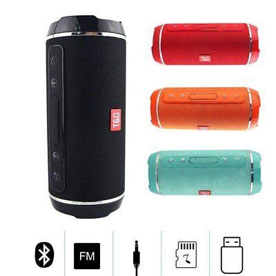 10W Wireless Bluetooth Speaker Portable Outdoor USB/FM Radio Stereo WATERPROOF