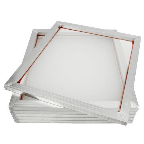 "4 PCs Aluminum Silk Screen Printing Press Screens White Mesh 20"" x 24""(50*60cm)"