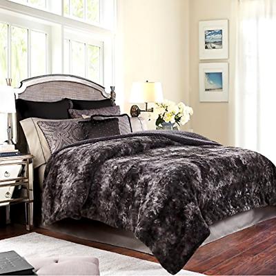 Chanasya Faux Fur Bed Throw Blanket - Super Soft Fuzzy Cozy
