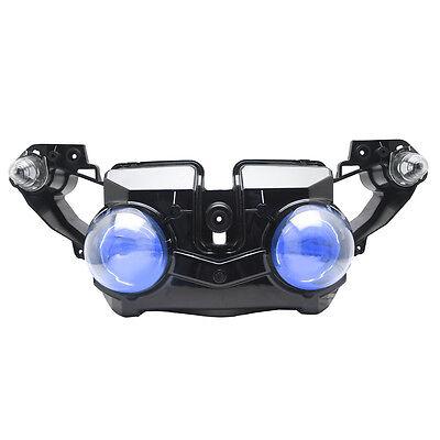 KT LED Headlight for Yamaha YZF R1 2009-2011 2009-2011 Blue