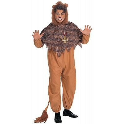 Cowardly Lion Full of Courage Costume Wizard of Oz Halloween Fancy Dress