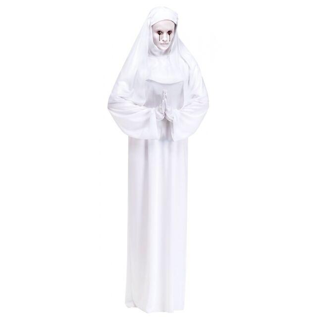 White Nun Womens Adult American Horror Story Creepy Halloween Costume