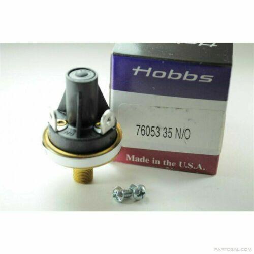 HOBBS HONEYWELL PRESSURE SWITCH 76053 - 35 PSI N/O - NEW