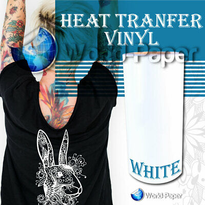 Heat Transfer Vinyl Roll Htv 12 X 10 Feet White