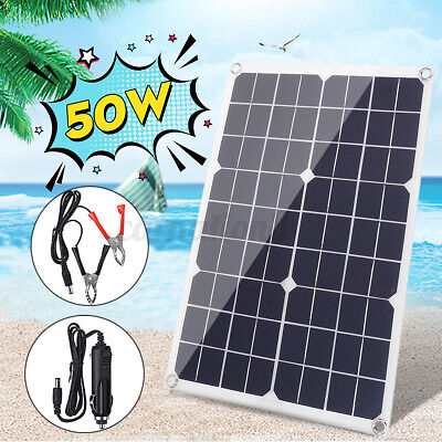 50w 20v solar panel kit motorhome boats