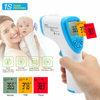 No-Contact IR Infrared Digital Forehead LCD Thermometer  Gun Handheld Baby Adult