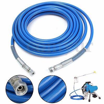 7.5m 3300PSI Airless Paint Spray Hose SprayTech Pipe Tube For Titan Wagner