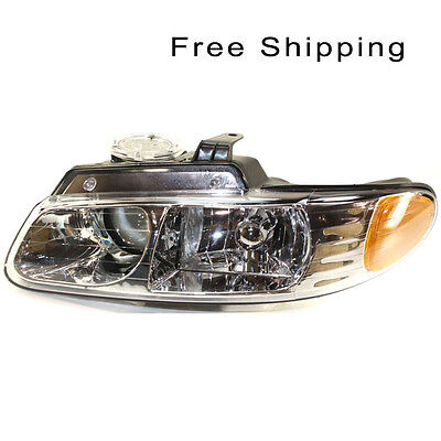 Halogen Head Lamp Assembly Driver Side Fits Chrysler Town & Country CH2502114