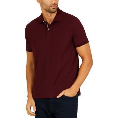 Nautica Mens Purple Cotton Classic Fit Polo Shirt Big & Tall 3XL BHFO 5350
