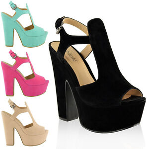 LADIES-WOMENS-PLATFORM-HIGH-HEELS-CUT-OUT-SUMMER-SANDALS-WEDGES-SHOES-SIZE