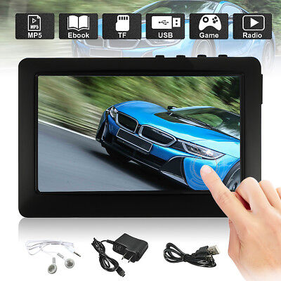 4.3'' LCD Touch Screen 8GB MP3 Player Game MP4 MP5 Media Spieler Video TF FM