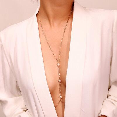 Sexy Body Chain - Body Chain Jewelry Bikini Women Sexy Alloy Body Crystal Jewelry D0073