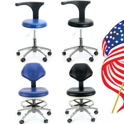 Pu Leather Dental Adjustable Medical Stool Doctor Assistant Stool Mobile Chair