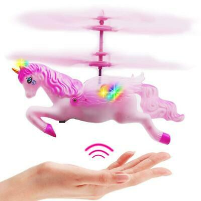 Girls Unicorn Helicopter Toys For Kids Little Girl Christmas Gift Hand Control - New Toys For Christmas