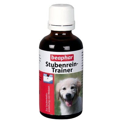 Beaphar - Stubenrein-Trainer - 50 ml - Welpen Eingewöhnung Training Hunde Hund