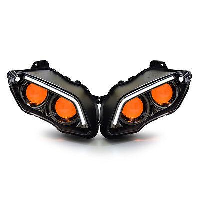 KT LED Headlight for Yamaha YZF R1 2007-2008