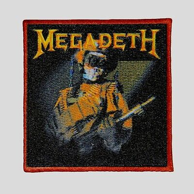 """Megadeth"" So Far, So Good, So What Album Art Metal Band Iron On Applique Patch"