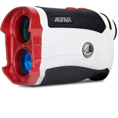 Golf Laser Range Finder AOFAR GX-2S 600Y Slope on/off Flagpole Lock Vibration