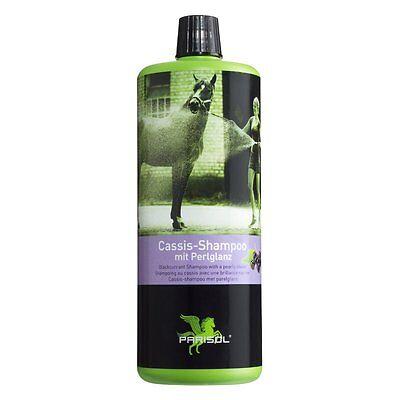 PARISOL Pferde-Shampoo mit Perlglanz 1000ml-Fellglanz Mähnenpflege Schweifpflege