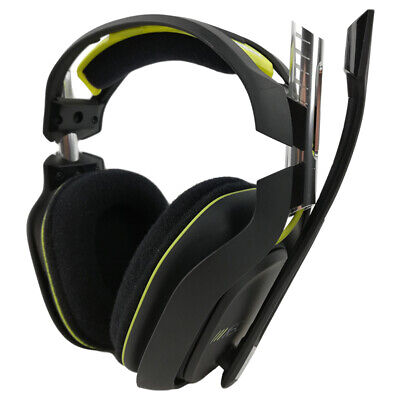 Astro A50 Black / Lime Gaming Headband Headsets for Xbox One / PC / PS4 / Mac