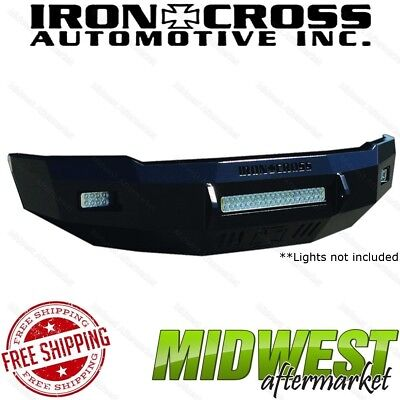 250 Iron (Iron Cross Low Profile Front Bumper Fits 2008-2010 F250 F350 Super)