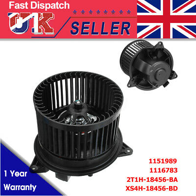 Heater Blower Fan Motor For Ford Transit Connect Mondeo Focus MK1 MK6 1116783 uk