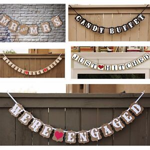shop decor wedding signs banners bunting