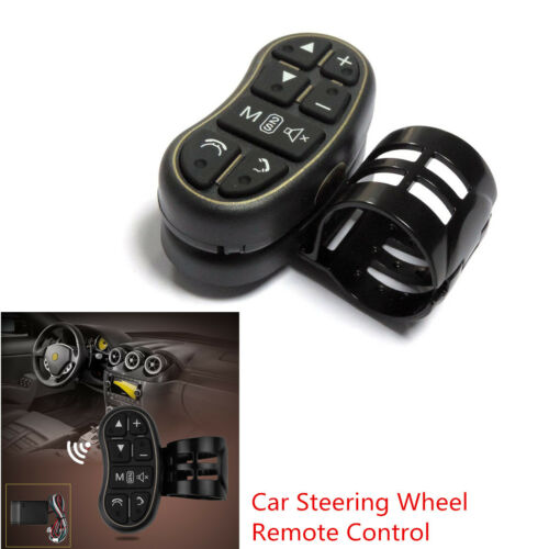 Car SUV Steering Wheel Wireless Remote Controller For DVD Audio Video Player GPS