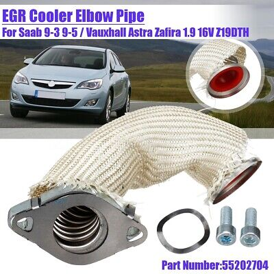 EGR Cooler Elbow Pipe For Saab 9-3 9-5 for Vauxhall Astra Zafira 1.9 55202704