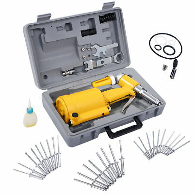 Pneumatic Air Hydraulic Pop Rivet Gun Tool With Case