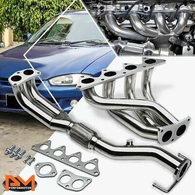 For 97-02 Mitsubishi Mirage 1.8L I4 4G93 Stainless Steel Exhaust Header Manifold for sale  Shipping to South Africa