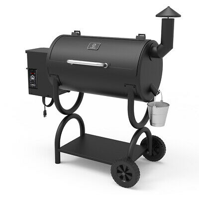 Z Grills ZPG-550B Wood Pellet Grill BBQ Smoker with Digital Control