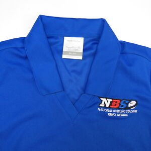 ... -DRI-FIT-NBS-BOWLING-STADIUM-RENO-NEVADA-BOWLER-POLO-SHIRT-Womens-S