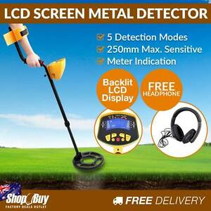 Free Delivery: Deep Sensitive Searching Metal Detector Gold Silv Homebush Strathfield Area Preview