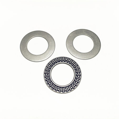 5pcs AXK1730 17x30x2 mm Needle Roller Thrust Bearing with Two Washers Each