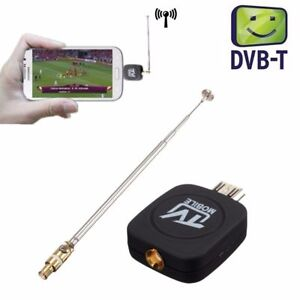 Mini Micro USB DVB-T Digital Mobile TV Tuner Receiver for Android 4.0-5.0 BRRB