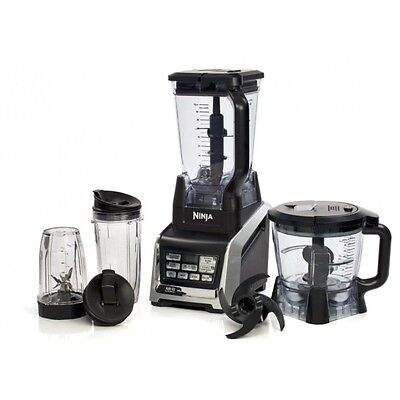 Ninja Kitchen System with Nutri Ninja Blender & Food Processor 1500W BL682UK