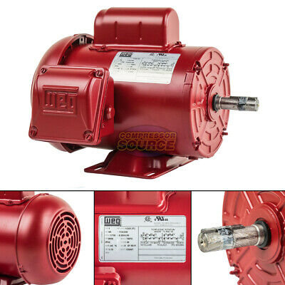 12 Hp Electric Motor W56 Frame 1730 Rpm Single Phase Farm Duty Air Compressor