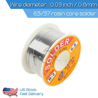 New 6337 0.03 Rosin Core Weldring Tin Lead Industrial Solder Wire Flux 2.0