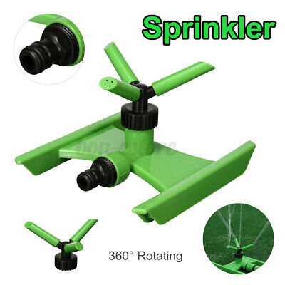 360° Rotating Garden Lawn Sprinkler Grass Water Spray Watering Irrigation  B Home & Garden