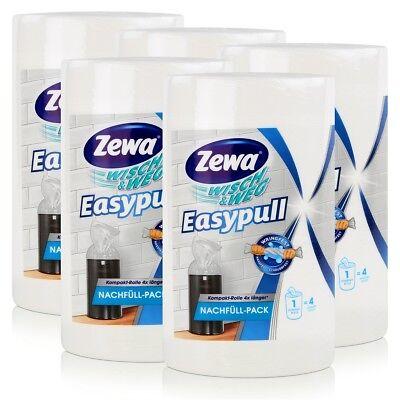 5x Zewa Wisch & Weg Easypull Nachfüll-Pack - Reißfest & saugstark