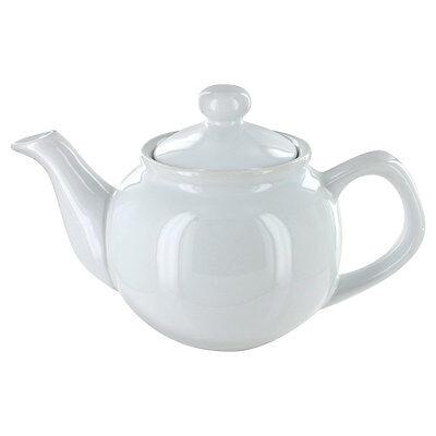 English Tea Store Brand 2 Cup Teapot - White Gloss Finish