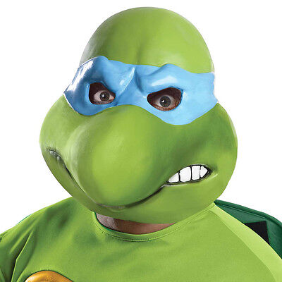 Teenage Mutant Ninja Turtles Leonardo 3/4 Adult Costume Mask Rubies 4978