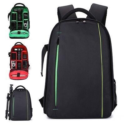 Waterproof DSLR Camera Backpack Rucksack Shoulder Bag Case For Canon/Nikon/Sony