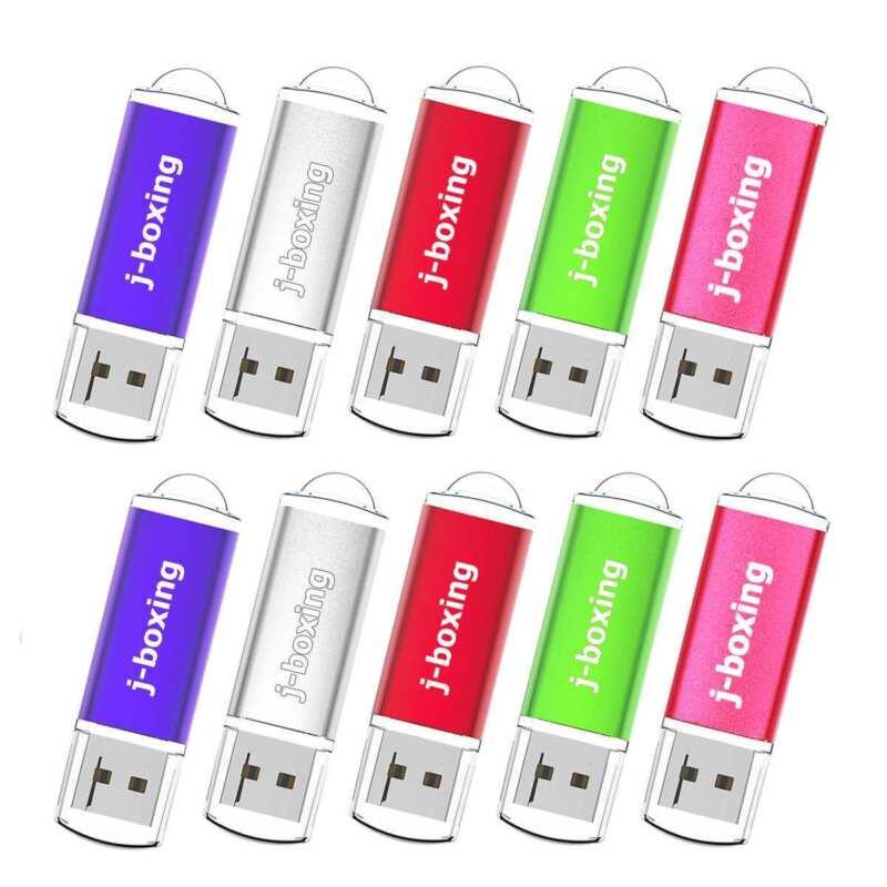 10 Pack 32GB USB Flash Drive Rectangle USB Memory Stick High Speed 32gb Pendrive